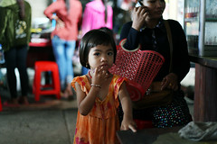 Little girl  Prey Veng (Julien Mailler) Tags: world street travel portrait people girl kids children asian julien kid asia cambodge cambodia cambodian khmer child little market asie southeast march nationalgeographic asiatique reflectionsoflife svay rieng lovelyphotos jules1405 cambodgien unseenasia earthasia mailler