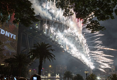 Sydney New Year's Eve fireworks brings in 2016