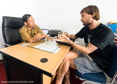 PAGOBBUI SITA (As Worlds Divide) Tags: tattoo titi padang ceremonialdance kebudayaan sumbar sumatrabarat mentawai facialtattoo westsumatra sikerei dinaspendidikan culturaleducationprogram