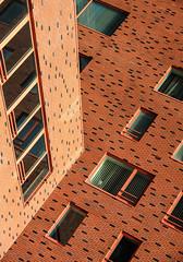 Windows & Bricks (mennomenno.) Tags: windows building architecture ramen kopvanzuid architectuur gebouw rotterdamzuid