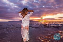 Ariana Lauren - Fashion Blogger (brandon.vincent) Tags: ocean sunset woman sexy beach girl beautiful fashion model photoshoot south maui blogger bikini swimsuit swimwear wailea