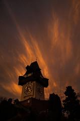 141223_Schloßberg_102 (Rainer Spath) Tags: sunset dawn austria evening abend österreich sonnenuntergang dämmerung graz steiermark autriche styria uhrturm hiwosomoshots schlosberg cloudsstormssunsetssunrises infinitexposure