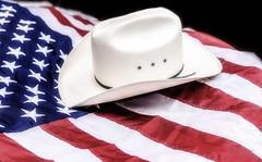 Ima Cowboy Baby ... (Axiz Photography) Tags: usa hat america us cowboy flag cowboyhat starsandstripes redwhiteblue