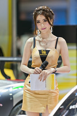 Toey - Singha (Chaiyapat_H) Tags: woman cute sexy girl model pretty bangkok toey 2015 motorexpo