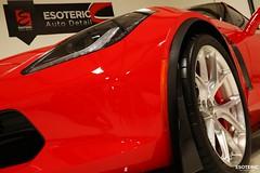 c7_z06_z07_esoteric_343 (Esoteric Auto Detail) Tags: corvette esoteric z06 detailing hre c7 torchred akrapovic p101 suntek z07 gyeon paintprotectionfilm paintcorrection bestlookingcorvette z06images