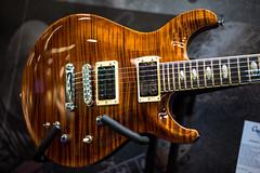 Caparison Tigers Eye Angelus (paul_ouzounov) Tags: musician music shop guitar bare knuckle guitars jackson custom esp prs namm kiesel 2016 carvin strandberg aristides zeiss55mm sonya7 namm2016