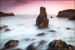 Rising tide at Moulin Huet (Pikebubbles) Tags: longexposure beach tide guernsey channelislands wetfeet risingtide slowwater moulinhuet leefilters davidgilliver davidgilliverphotography