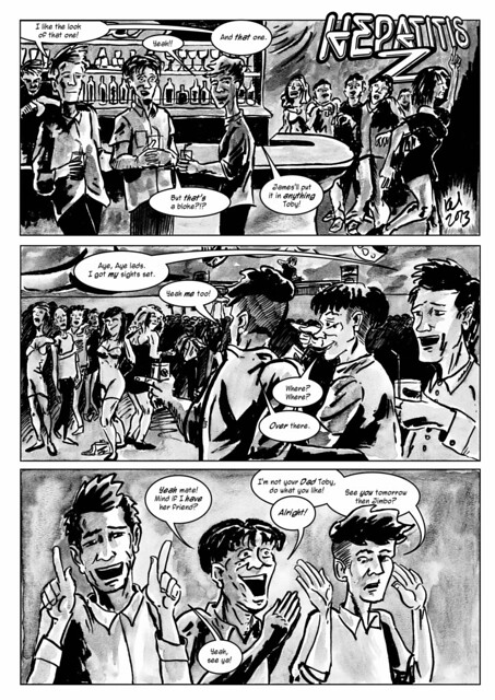 Hepatitis Z, Page 1 - Published by Borderline Press