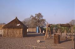 Namibia 2002 (patrikmloeff) Tags: world voyage africa travel 2002 analog reisen dorf village minolta earth african htte adventure hut afrika analogue traveling monde namibia reise afrique welt erde namibian southernafrica fass rundu abenteuer afrikanisch strohhtte sdlichesafrika africanwinter namibisch afrikanischerwinter