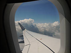 LH1365 KRK-FRA 20JUL15 (kenjet) Tags: cloud weather clouds inflight cabin europe day view cloudy aircraft aviation air wing jet poland krakow aerial airline airbus windowview lh fromthewindow winglet kraków cracow lufthansa onboard airliner dlh a320 a320214 eaizy