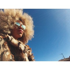 Big hair, big dreams! (maryruiz.es) Tags: mobile square afro mary funky squareformat funk fro ruiz blaxploitation iphoneography instagram instagramapp uploaded:by=instagram