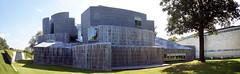 DSC02457-60 (trevor.patt) Tags: panorama architecture campus university gallery postmodern gehry toledo oh musuem