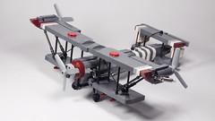 Equalist Biplane (N-11 Ordo) Tags: by plane lego vehicle build legend hiroshi biplane sato ordo the korra asai n11 equalist