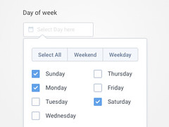 Day Picker - Iteration 2 (ijstheedribbble) Tags: inspiration apple design tv graphic screensaver popular dribbble iftt