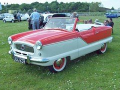 308 Austin Metropolitan Series III Convertible  (1957) (robertknight16) Tags: austin 1950s british hudson nash amc metropolitan bmc gaydon pinninfarina worldcars uuk628