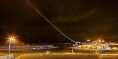 (#brandenburg) Tags: urban lightpainting deutschland europa technik nrw flughafen flugzeug jahr langzeitbelichtung 2016 klnbonn nachtaufnahmen