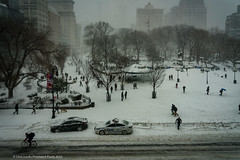 Blizzard 2016 (Pixielated Pixels) Tags: nyc newyorkcity winter snow weather chelsea chrislord pixielatedpixels blizzard2016