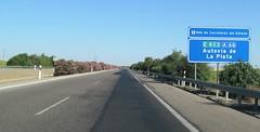 A-66-10 (European Roads) Tags: de la sevilla andaluca spain plata andalusia alto venta santiponce autova a66 gerena algaba