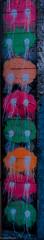 SF - Blops (al3x!s) Tags: sanfrancisco california street pink urban usa white streetart black color colour green art 35mm nikon grafiti outdoor mm 35 orabge tatsunis