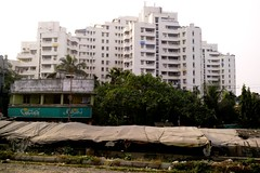 Kolkata 56 (juggadery) Tags: urban india building architecture highrise bengal apartmentbuilding condominium mdu towerblock multistorey westbengal 2015 blockofflats puccahouse multidwellingunit
