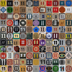 My 11th flickrversary - 14th Feb 2016 (Leo Reynolds) Tags: anniversary photomosaic flickrversary squircle 11th flickrthing mosaicnumber xleol30x xxx2016xxx