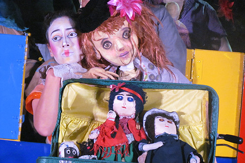 La vida privada de las muñecas de trapo