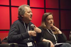 "Pierre Hasky et Charlotte Menegaux - Enseigner l'entrepreneuriat aux jeunes journalistes • <a style=""font-size:0.8em;"" href=""http://www.flickr.com/photos/139959907@N02/25045477933/"" target=""_blank"">View on Flickr</a>"