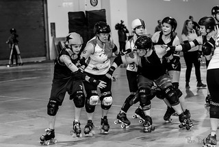 The Smoke City Betties vs The Death Track Dolls