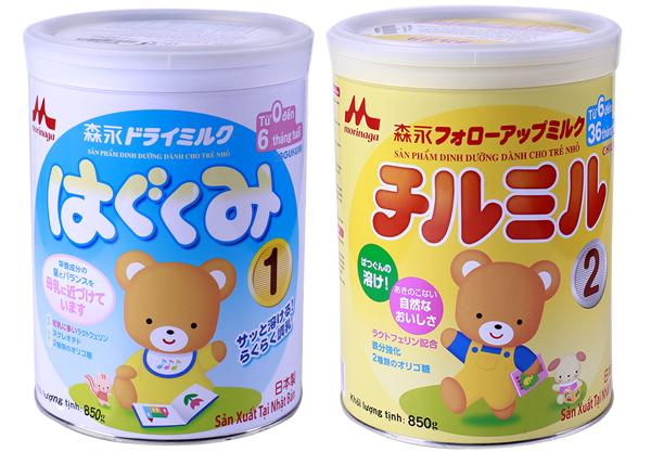 Phát triển tối đa – Thoái mái lựa quà khi mua sữa Morinaga