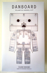 Danboard clear Model Kit (ok2la) Tags: japan robot doll anniversary clear 20th kotobukiya yotsuba danbo dengeki danboard