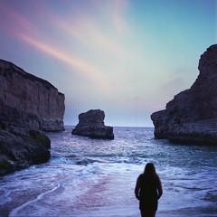 Enjoying the view (-Alberto_) Tags: ocean california seascape mediumformat 120film hasselblad500cm fujicolor160