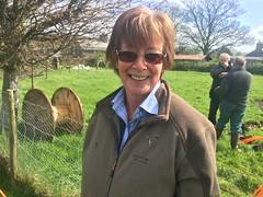 Annette spade (b4ruralnorth) Tags: yorkshire lancashire jfdi cumbria spades barnstormers heroines b4rn digitalbritain ladiesofgrit