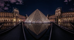 NIGTH AT THE MUSEUM (sgsierra) Tags: paris france museum night noche europe long exposure louvre nocturna museo francia exposicion larga