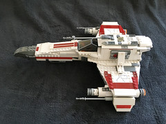 IMG_1257 (lee_a_t) Tags: starwars fighter lego xwing spaceship ewing rebels starfighter darkempire legoxwing legostarfighter legoewing