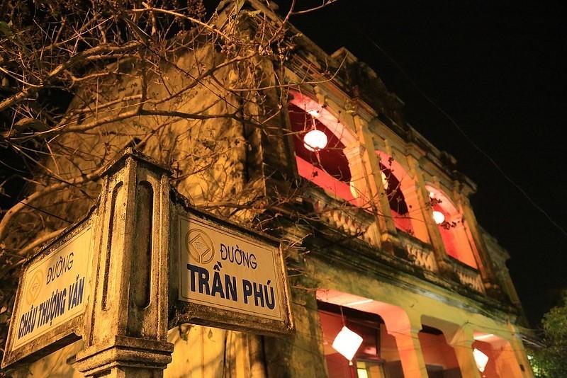 đường Trần Phú ở Hội An