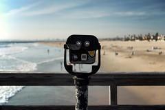 """Automatic Focus"" (helmet13) Tags: california vacation usa beach sunshine fun pier raw waves bokeh pacificocean spyglass selectivefocus sealbeach aoi peaceaward heartaward d800e"