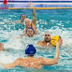 FINA Men's Water polo Olympic Games Qualifications Tournament 2016 - Trieste (ITA) (fina1908) Tags: 2016 fina blue men waterpolo olympicgames qualification tournament2016 trieste pallanuoto 12jaggarsa italy ita olympics waterpoloogqt