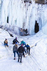 IMG_4102-1 (Domini Brown) Tags: park people ice minnesota portraits wonder outside outdoors togetherness climb frozen waterfall state north minneapolis falls adventure explore kindness candids minnehaha