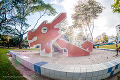 The Dragon Playrground Sparkle (chaoticbusher) Tags: pictures shadow urban distortion art playground contrast landscape photography design march daylight sand aperture nikon singapore moments artist photographer exterior angle image body memories perspective snap location highlights architectural fisheye f16 memory lensflare rememberance historical sunburst fullframe nikkor dslr capture fx visual effect d800 1x enviroment uwa 2016 nhb ultrawideangle nationalheritageboard dragonplayground toapayohlorong1 chaoticbusher jeremyhui jeremyhuiphotography toapayohheritage
