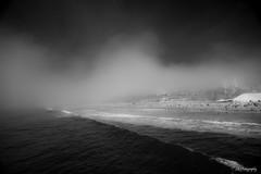While I'm catching my dreams (.KiLTRo.) Tags: ocean california sea mist beach water fog clouds pier unitedstates outdoor santamonica wave kiltro