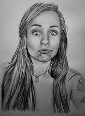 Dibujo (Tavinci) Tags: portrait art lady sketch arte retrato lapiz draw dibujo realismo beautifu