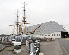 3 Slip & HMS Gannet #2 (streetr's_flickr) Tags: museum kent engineering chatham carpentry gunship sloop shipbuilding royalnavy timberframe 1838 1878 chathamhistoricdockyard hmsgannett steamsailpower 3slipthebigspace 19cindustrialarchitecture