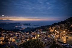 九份山城 (Wi 視覺) Tags: city sky cloud landscapes taiwan 基隆 九份 台灣基隆
