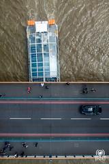 Look down (andrea.prave) Tags: road street uk bridge england bus london cars thames towerbridge ponte lookdown londres busses londra doubledecker inghilterra tamigi     guardaregi