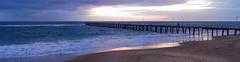 Noarlunga Jetty at sunset (Rolf Lawrenz) Tags: landscape jetty panoramic sunsetsunrise