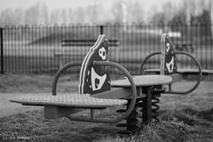 3 (wx_kev) Tags: urban blackandwhite playground essex walthamabbey townmead