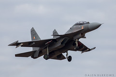 Indian Air Force SU-30 (galenburrows) Tags: plane flying aircraft aviation military flight airforce su30 trenton planespotting figher fighterjet indianairforce cfbtrenton