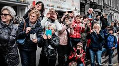 Shooting Spectators (FotoFling Scotland) Tags: event edinburgh scotland camera freedomofthecity iphone ladies military photographers royalregimentofscotland spectators fotoflingscotland