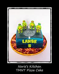 Norie's Kitchen - Teenage Mutant Ninja Turtles Cake (Norie's Kitchen) Tags: birthday cakes cake ninja philippines pizza celebration turtles mutant leonardo raphael cavite michaelangelo teenage fondant gumpaste norieskitchen
