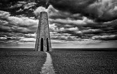 The Daymark Tower (Frosty__Seafire) Tags: white black start bay navigation d7000